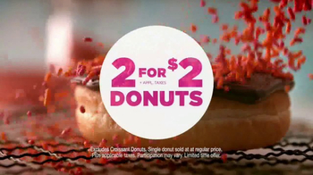 Dunkin' Donuts 2 for $2 TV Spot, 'Make Today Smile' - Thumbnail 9