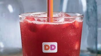 Dunkin' Donuts Fruited Iced Teas TV Spot, 'Add a Burst'