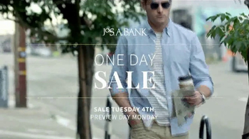 JoS. A. Bank One Daly Sale TV Spot, 'Wool Suits & Traveler' - Thumbnail 1