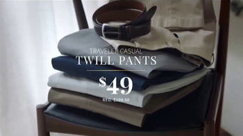 JoS. A. Bank One Daly Sale TV Spot, 'Wool Suits & Traveler' - Thumbnail 7