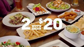 Applebee's 2 for $20 TV Spot, 'More Tempting' - Thumbnail 2