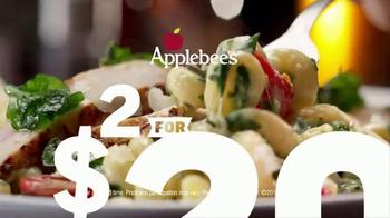 Applebee's 2 for $20 TV Spot, 'More Tempting' - Thumbnail 7