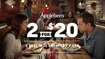 Applebee's 2 for $20 TV Spot, 'More Tempting' - Thumbnail 8