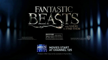 DIRECTV Cinema TV Spot, 'Fantastic Beasts and Where to Find Them' - Thumbnail 7