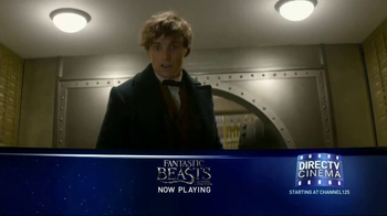 DIRECTV Cinema TV Spot, 'Fantastic Beasts and Where to Find Them' - Thumbnail 2