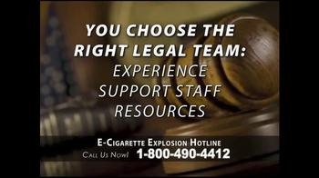 Phelan Petty Trial Attorneys TV Spot, 'E-Cigarette Explosion Hotline' - Thumbnail 8