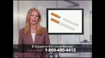 Phelan Petty Trial Attorneys TV Spot, 'E-Cigarette Explosion Hotline' - Thumbnail 2