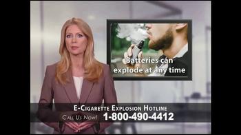 Phelan Petty Trial Attorneys TV Spot, 'E-Cigarette Explosion Hotline' - Thumbnail 3