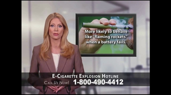 Phelan Petty Trial Attorneys TV Spot, 'E-Cigarette Explosion Hotline' - Thumbnail 4
