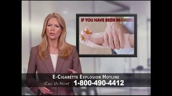 Phelan Petty Trial Attorneys TV Spot, 'E-Cigarette Explosion Hotline' - Thumbnail 5