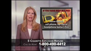 Phelan Petty Trial Attorneys TV Spot, 'E-Cigarette Explosion Hotline' - Thumbnail 6