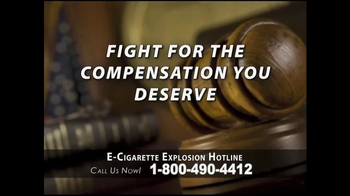 Phelan Petty Trial Attorneys TV Spot, 'E-Cigarette Explosion Hotline' - Thumbnail 7