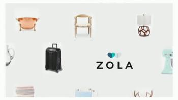 Zola TV Spot, 'Why Couples Love Zola Registry' - Thumbnail 4