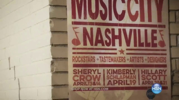 HSN TV Spot, 'Music City Nashville' Ft. Sheryl Crow, Kimberly Schlapman - 25 commercial airings