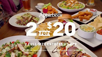 Applebee's 2 for $20 TV Spot, 'Tempting New Options' - Thumbnail 9