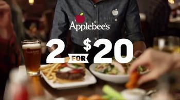 Applebee's 2 for $20 TV Spot, 'Tempting New Options' - Thumbnail 2