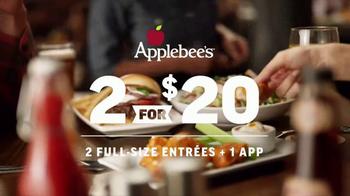 Applebee's 2 for $20 TV Spot, 'Tempting New Options' - Thumbnail 3