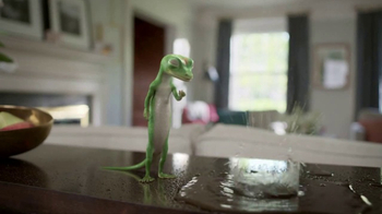 GEICO TV Spot, 'The Gecko Finds a Pool Party' - Thumbnail 7