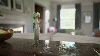 GEICO TV Spot, 'The Gecko Finds a Pool Party' - 5376 commercial airings