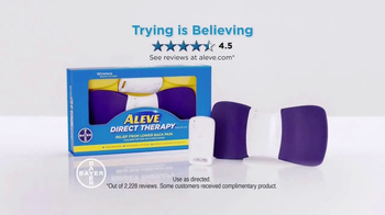 Aleve Direct Therapy TV Spot, 'Believe' - Thumbnail 8