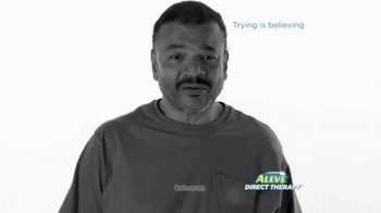Aleve Direct Therapy TV Spot, 'Believe' - Thumbnail 7
