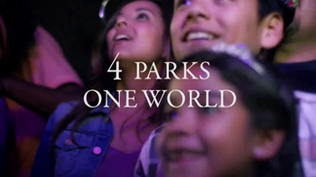 Walt Disney World 4-Park Magic Ticket TV Spot, 'Four Theme Parks' - Thumbnail 6