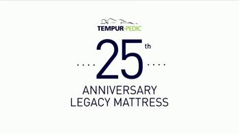 Tempur-Pedic Tempur-Legacy TV Spot, '25th Anniversary' - Thumbnail 1