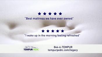 Tempur-Pedic Tempur-Legacy TV Spot, '25th Anniversary' - Thumbnail 5