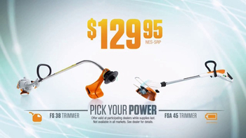 STIHL TV Spot, 'Pick Your Power: Trimmer Attachment' - Thumbnail 4