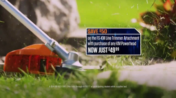 STIHL TV Spot, 'Pick Your Power: Trimmer Attachment' - Thumbnail 6