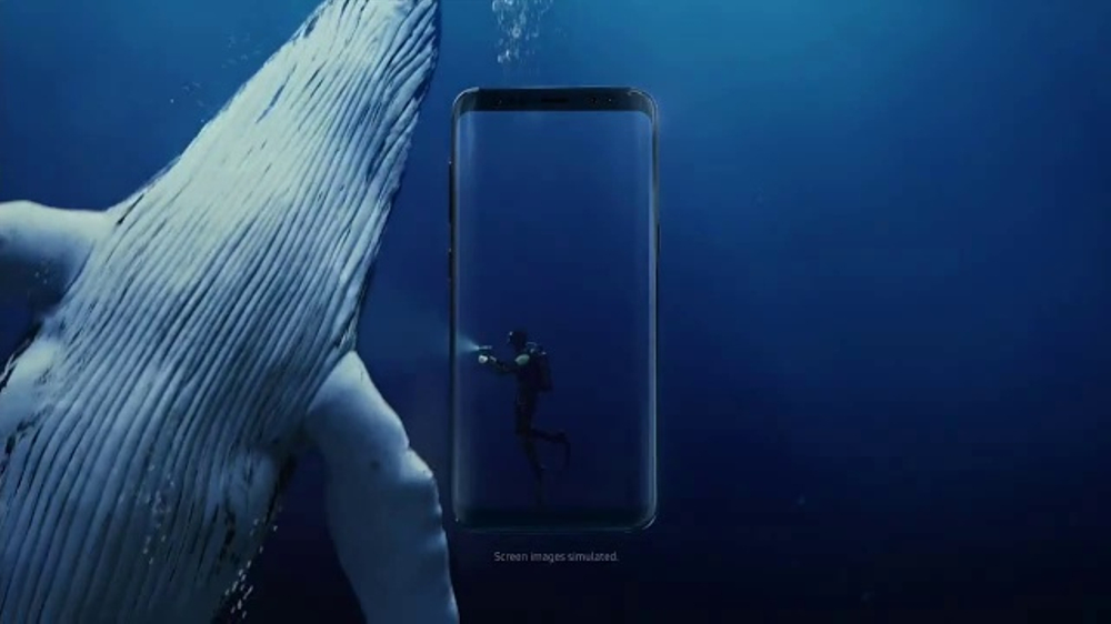 Samsung Galaxy S8 TV Commercial, 'Unbox Your Phone: Diver'