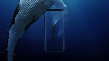 Samsung Galaxy S8 TV Spot, 'Unbox Your Phone: Diver' - Thumbnail 6