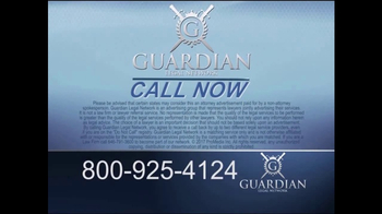 Guardian Legal Network TV Spot, 'Total or Reverse Shoulder Replacement' - Thumbnail 6