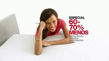 Macy's Los Precios Más Bajos de la Temporada TV Spot, 'Colchones' [Spanish] - Thumbnail 5
