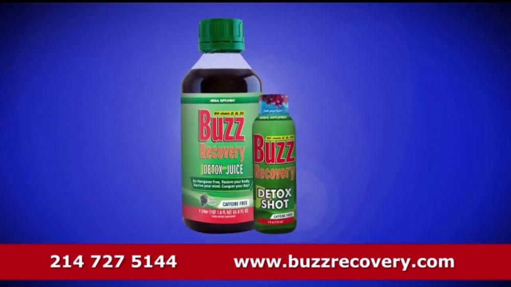 BuzzRecovery Detoxifier Juice TV Commercial, 'Creador'