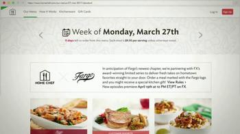 Home Chef TV Spot, 'FX: Fargo-Inspired Dinners' - Thumbnail 4