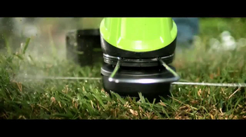 GreenWorks Pro 60 Volt TV Spot, 'Lithium Powered' - Thumbnail 6