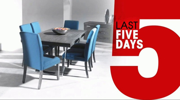 Rooms to Go 26th Anniversary Sale TV Spot, 'Last Five Days' - Thumbnail 5