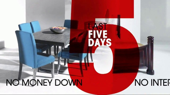 Rooms to Go 26th Anniversary Sale TV Spot, 'Last Five Days' - Thumbnail 6