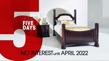 Rooms to Go 26th Anniversary Sale TV Spot, 'Last Five Days' - Thumbnail 7
