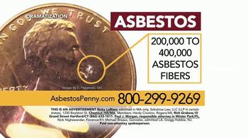 Sokolove Law TV Spot, 'Asbestos Penny' - Thumbnail 3