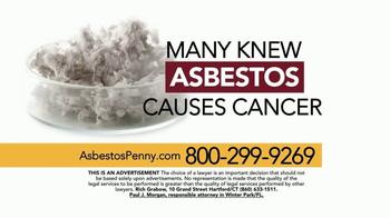 Sokolove Law TV Spot, 'Asbestos Penny' - Thumbnail 4
