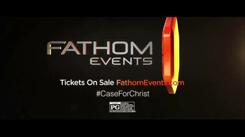 Fathom Events TV Spot, 'The Case for Christ' - Thumbnail 9