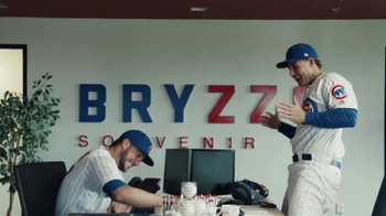 MLB TV Spot, 'Bryzzo Souvenir Co.' Featuring Kris Bryant, Anthony Rizzo - 79 commercial airings