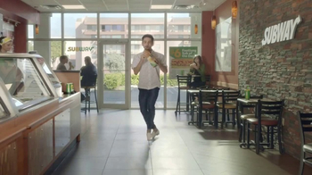 Subway $6 Footlong Sub of the Day TV Spot, 'Dancing Feet' - Thumbnail 2