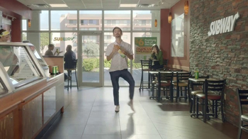 Subway $6 Footlong Sub of the Day TV Spot, 'Dancing Feet' - Thumbnail 3