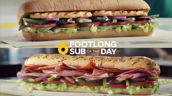Subway $6 Footlong Sub of the Day TV Spot, 'Dancing Feet' - Thumbnail 6