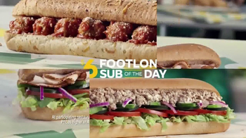 Subway $6 Footlong Sub of the Day TV Spot, 'Dancing Feet' - Thumbnail 7