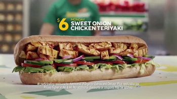 Subway $6 Footlong Sub of the Day TV Spot, 'Dancing Feet' - Thumbnail 8