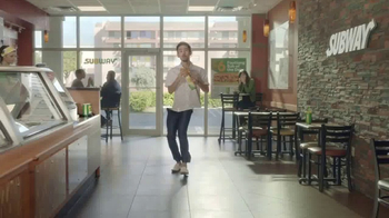 Subway $6 Footlong Sub of the Day TV Spot, 'Dancing Feet' - Thumbnail 9